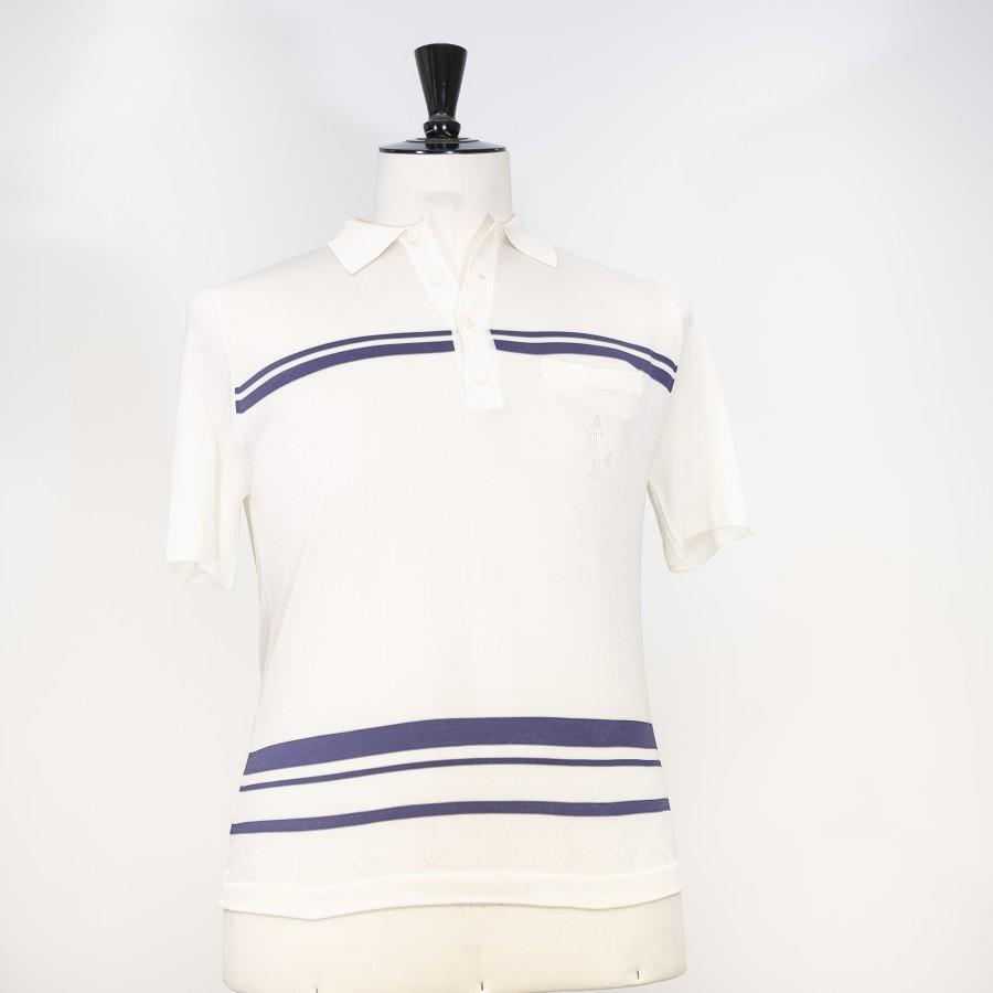 Polo vintage fil lumière -HERVEY