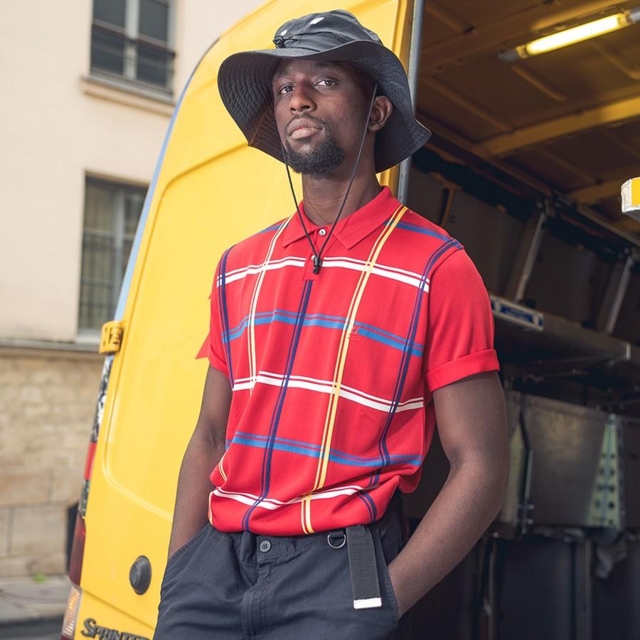 Vintage Polo shirt -BOSTON